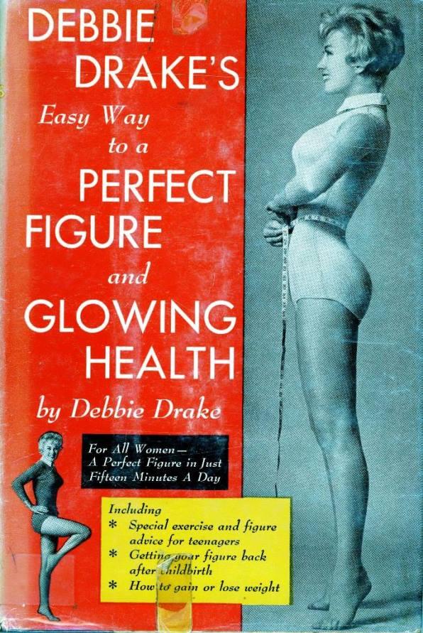 Debbie Drake exercise book cover
