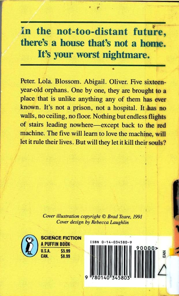 house of stairs back cover