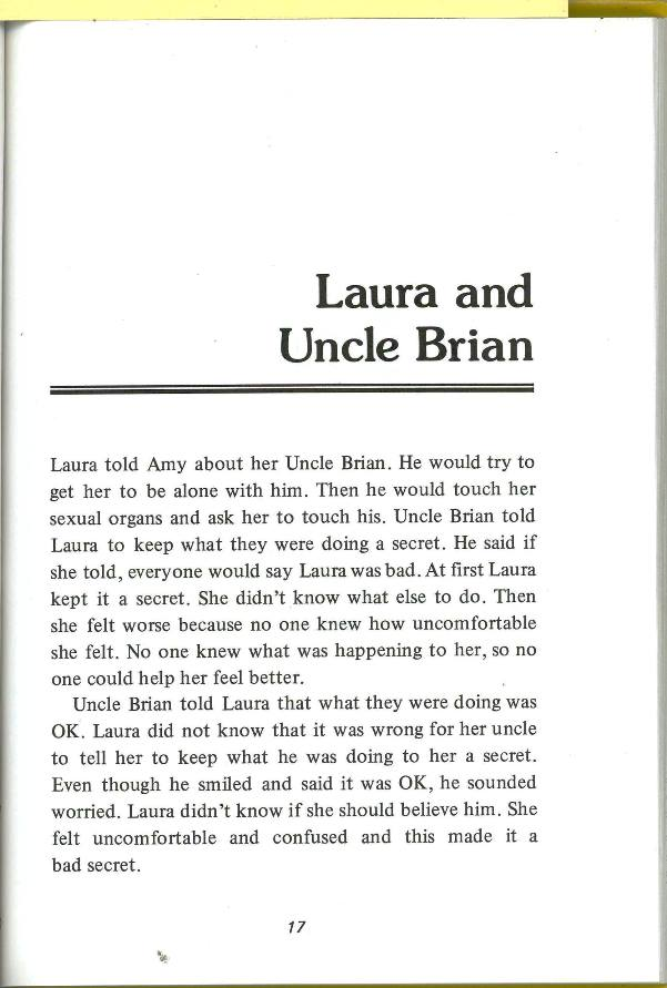 Laura and Uncle brian's story