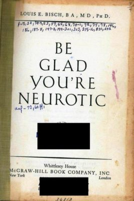 be glad you're neurotic title page