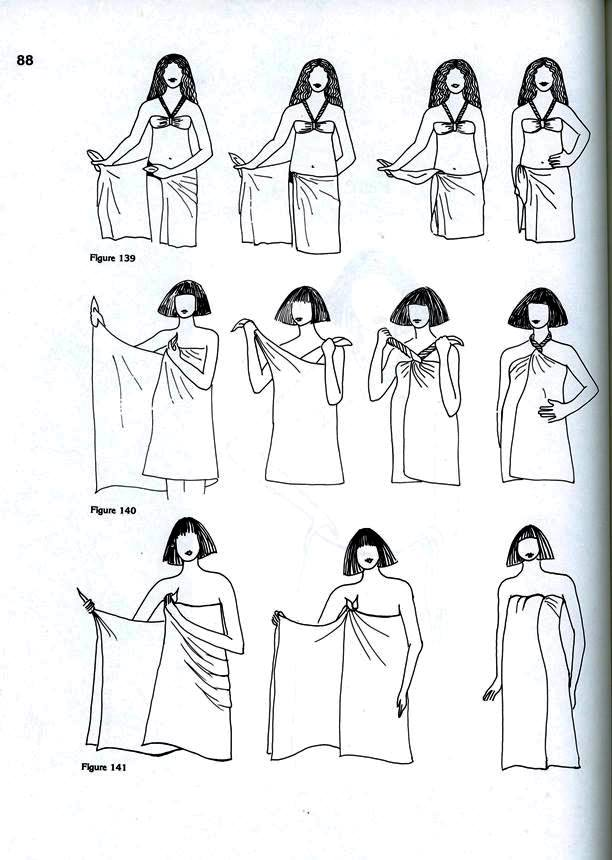 more dress wrapping