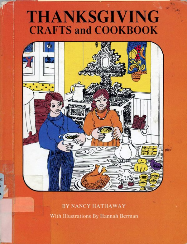 thanksgiving crafts and cookbook cover