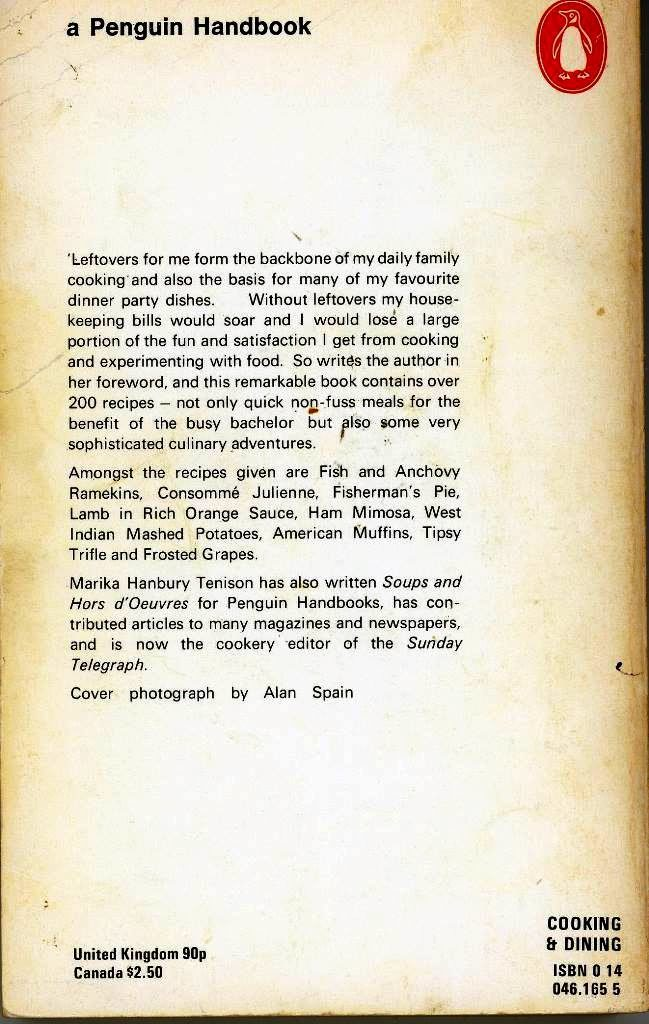 leftovers back cover