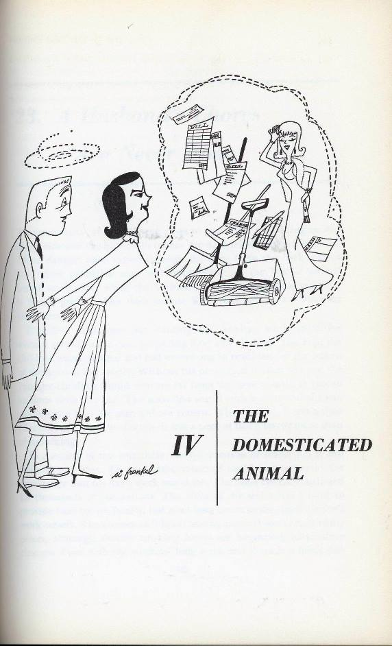 cartoon about men as domesticated animals