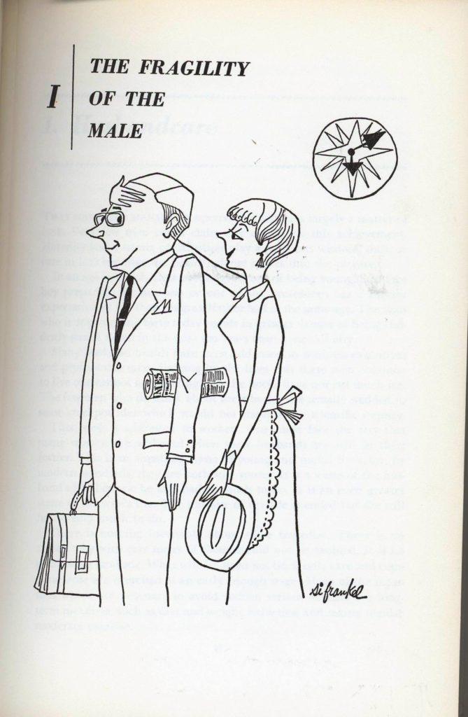 cartoon of husband and wife