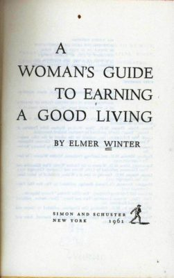 woman's guide to earning a good living