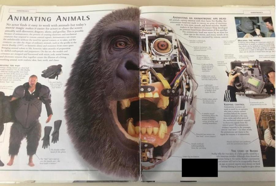 special effects ape