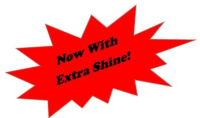 now with extra shine