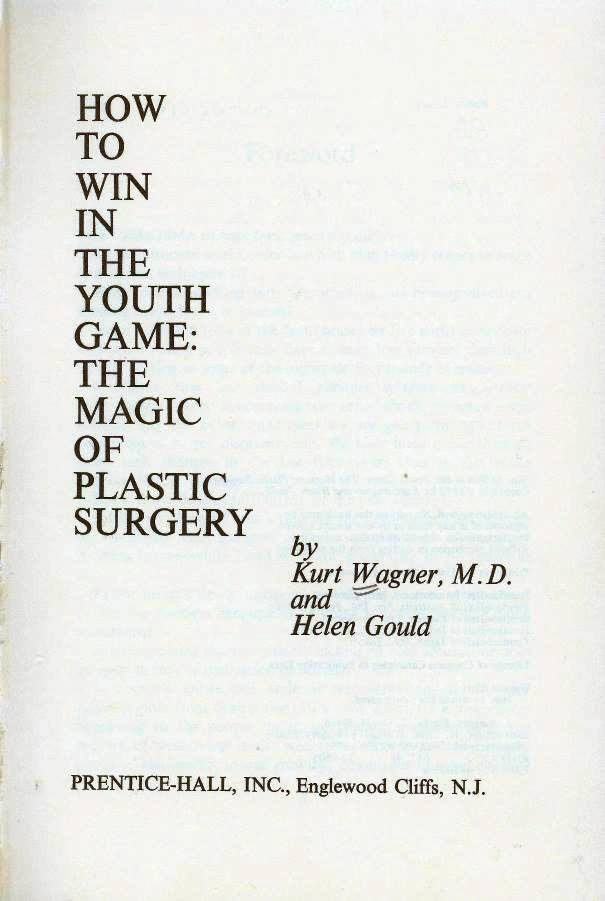 how to win the youth game with plastic surgery title page