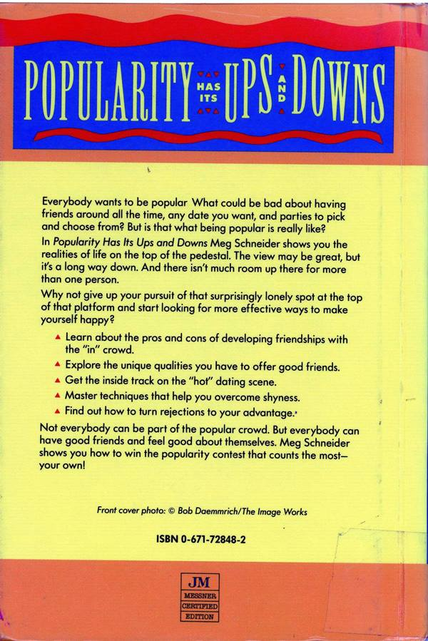 popularity back cover