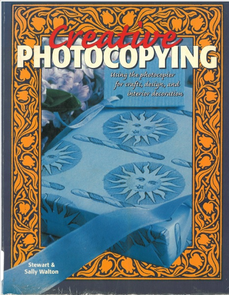 Creative Photocopying cover
