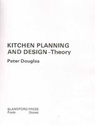 Kitchen Planning and Design Cover