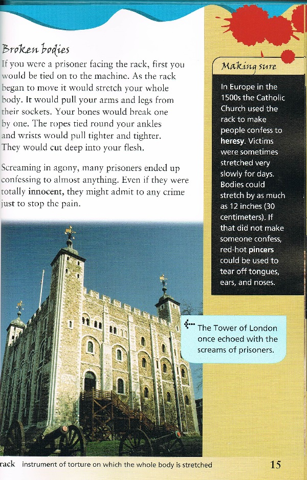 Screams in the Tower of London