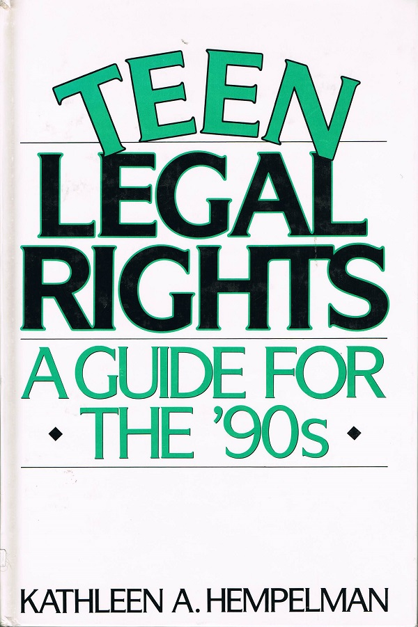 Teen Legal Rights cover