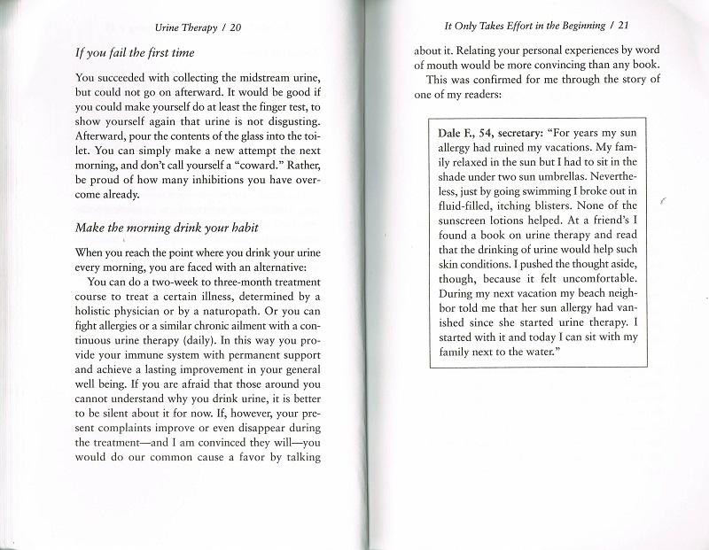 Urine Thearpy testimonials