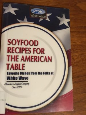 Soyfood Recipes cover