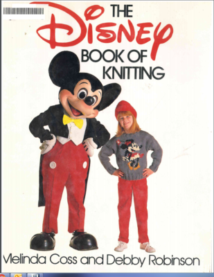 Disney Book of Knitting cover