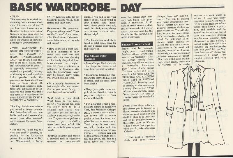 day wardrobe