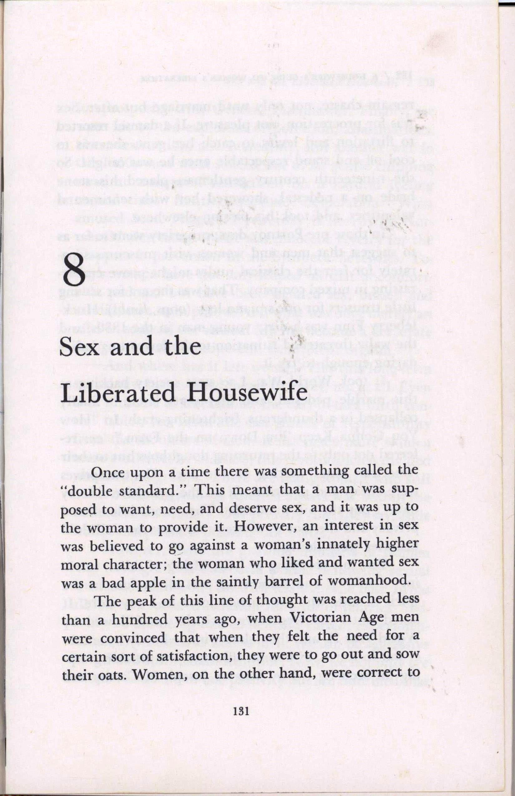 sex and the liberated housewife