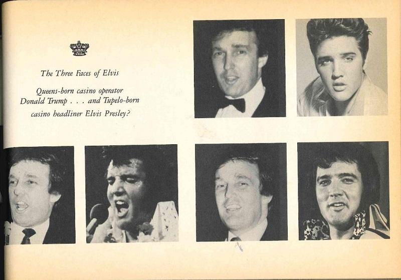 Elvis Presley - Donald Trump