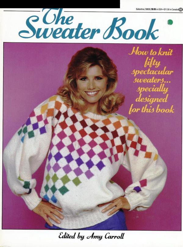 sweater book cover