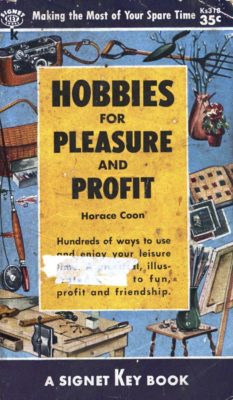 hobbies for pleasure and profit