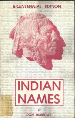 Indian Names cover