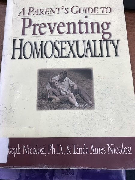 Preventing Homosexuality cover