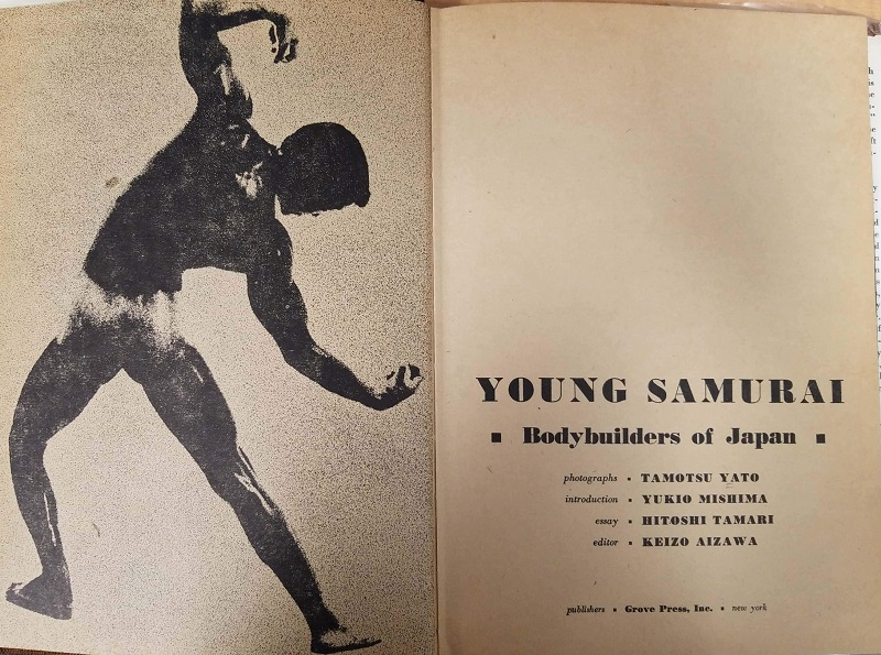 Young Samurai title page
