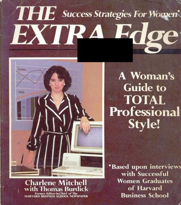 extra edge style for professional woman