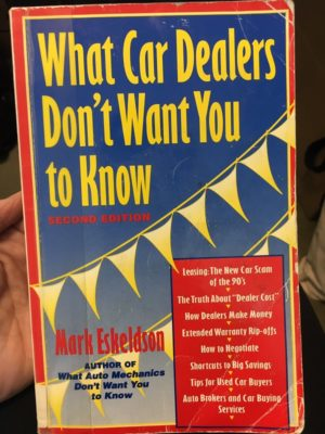 what car dealers don't want you to know
