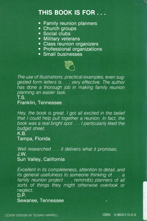 family reunion back cover