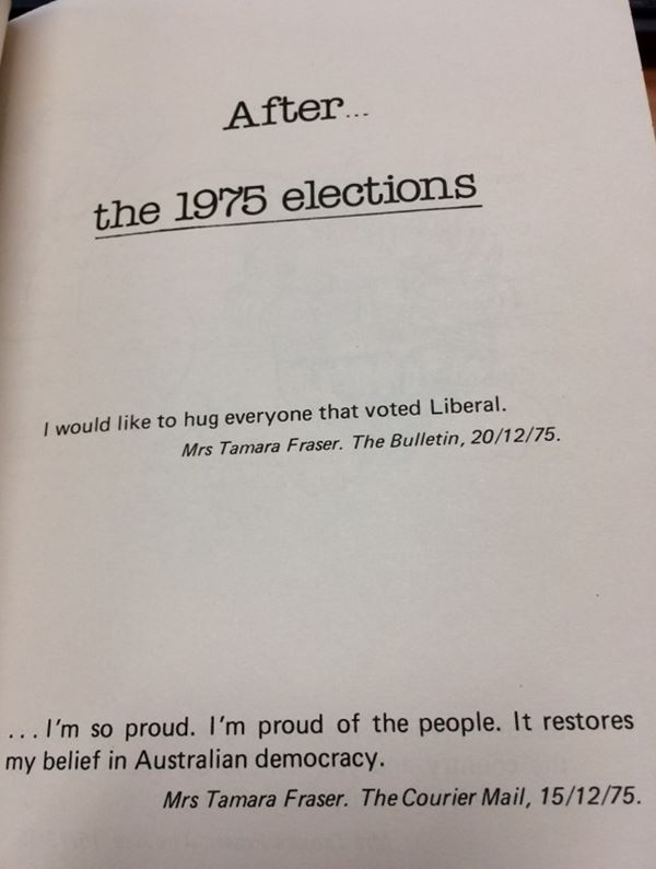 after the elections