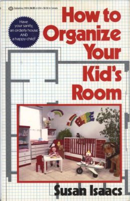 how to organize your kid's room