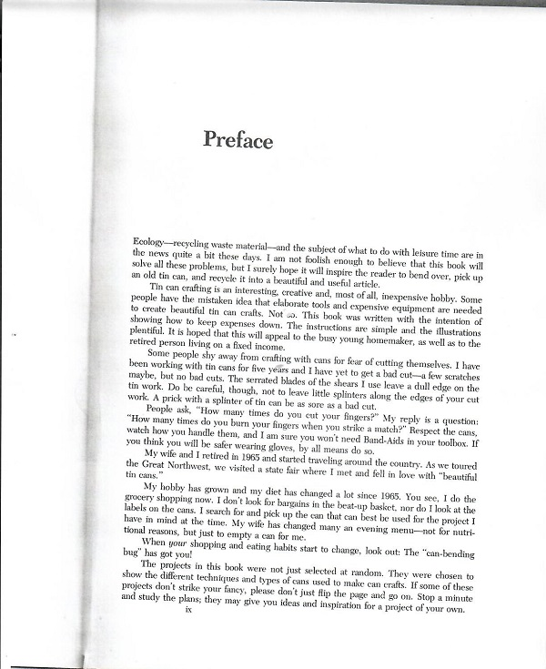 Can Crafts preface