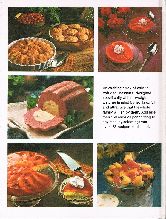 Low-Calorie Desserts back cover