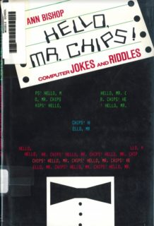 Hello Mr. Chips cover
