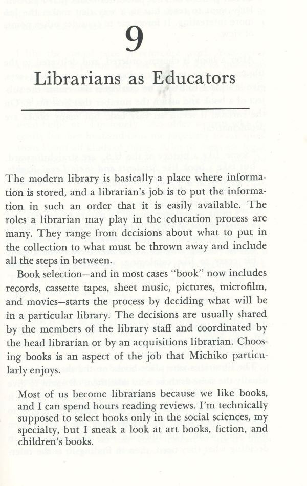 librarians and education