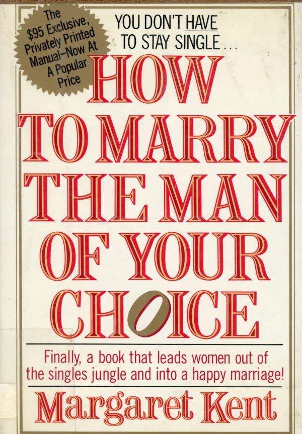 how to marry the man of your choice book