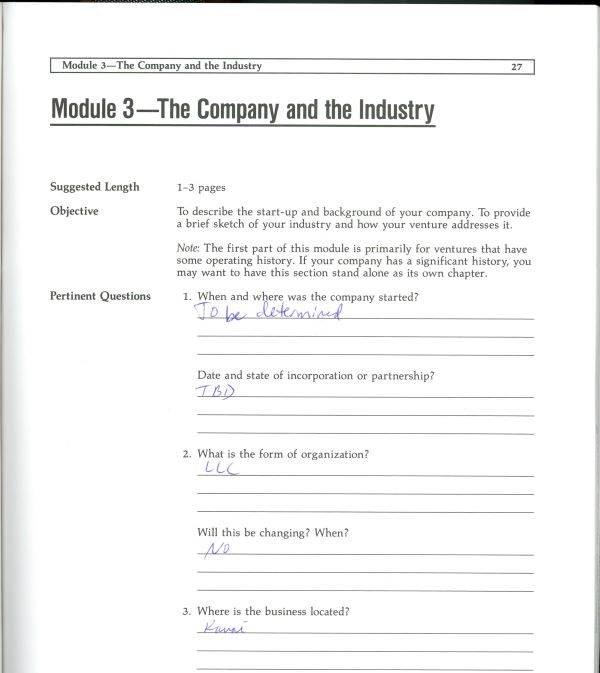 company and industry information