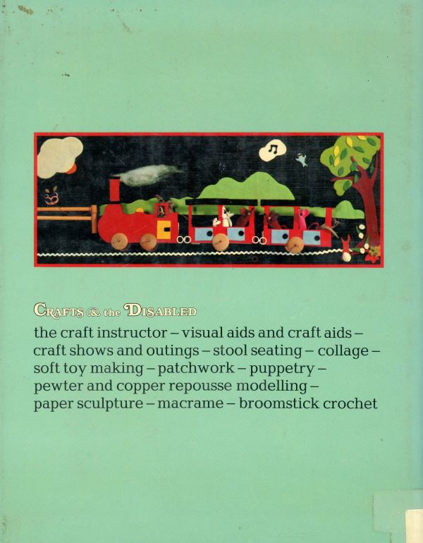 crafts for the disabled back cover