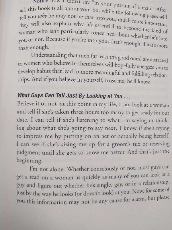 What Boys can tell just by looking at you