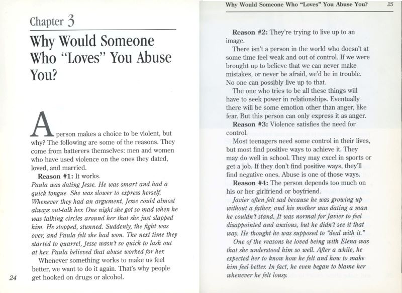 why would someone who loves you, abuse you?
