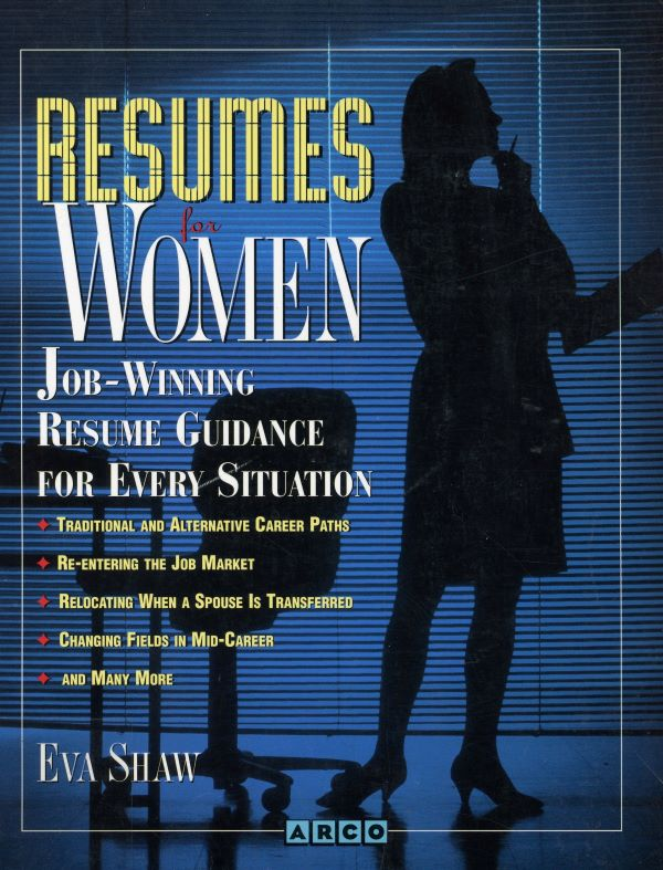 resumes for women cover
