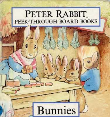 peter rabbit board book cover