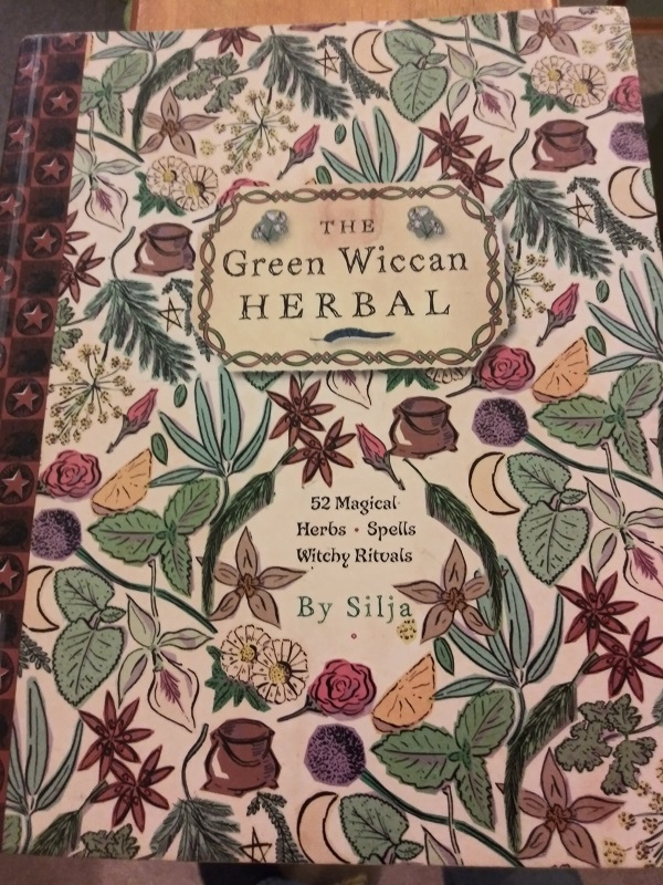 Green Wiccan herbal cover