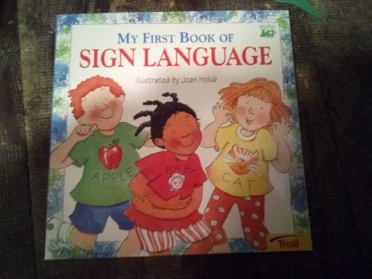 First Book of Sign Language cover