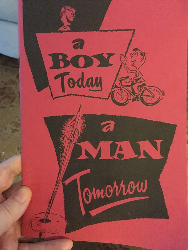 A Boy Today, a Man Tomorrow