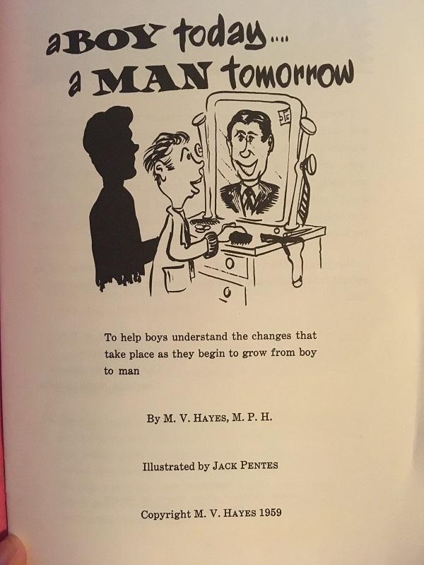 Boy Today, a man tomorrow