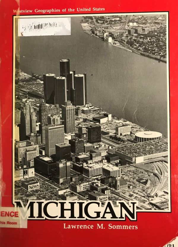 michigan geography front cover 1984